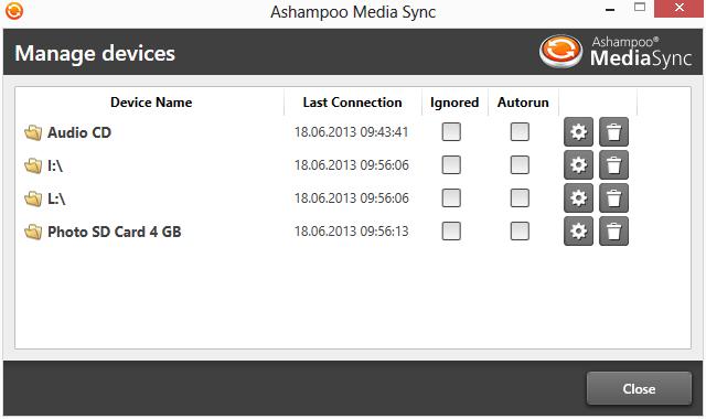 Ashampoo Media Sync