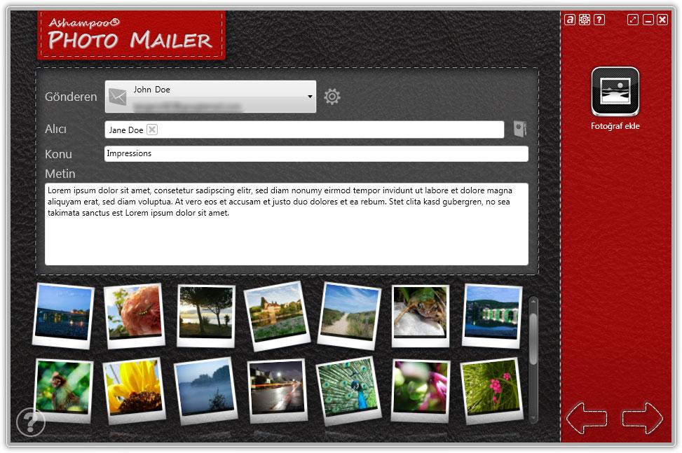 Ashampoo Photo Mailer - Email 分享照片软件丨反斗限免