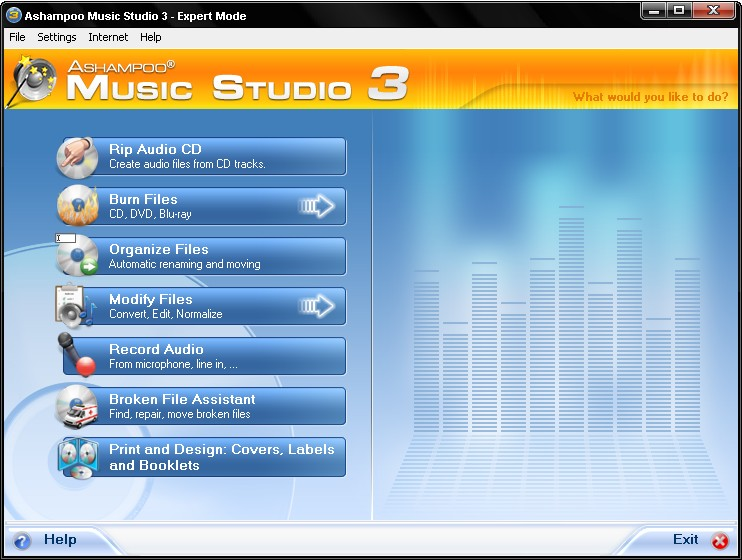 Click to view Ashampoo Music Studio 3.51 screenshot