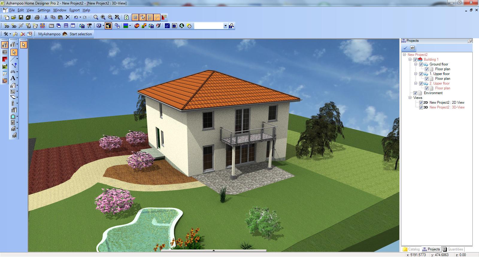 ashampoo 174 home designer pro 2