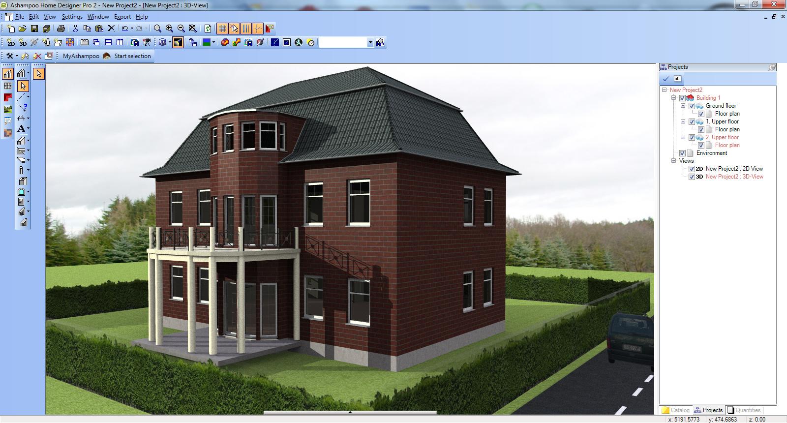 building4 - Ashampoo Home Designer Pro - Ev Tasarlama Programı - Kampanya