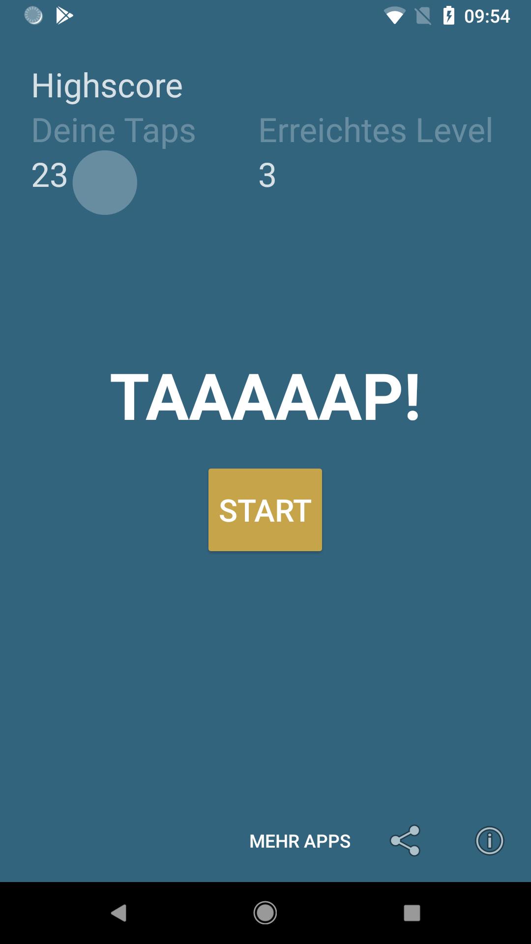 Screenshot Ten Seconds App