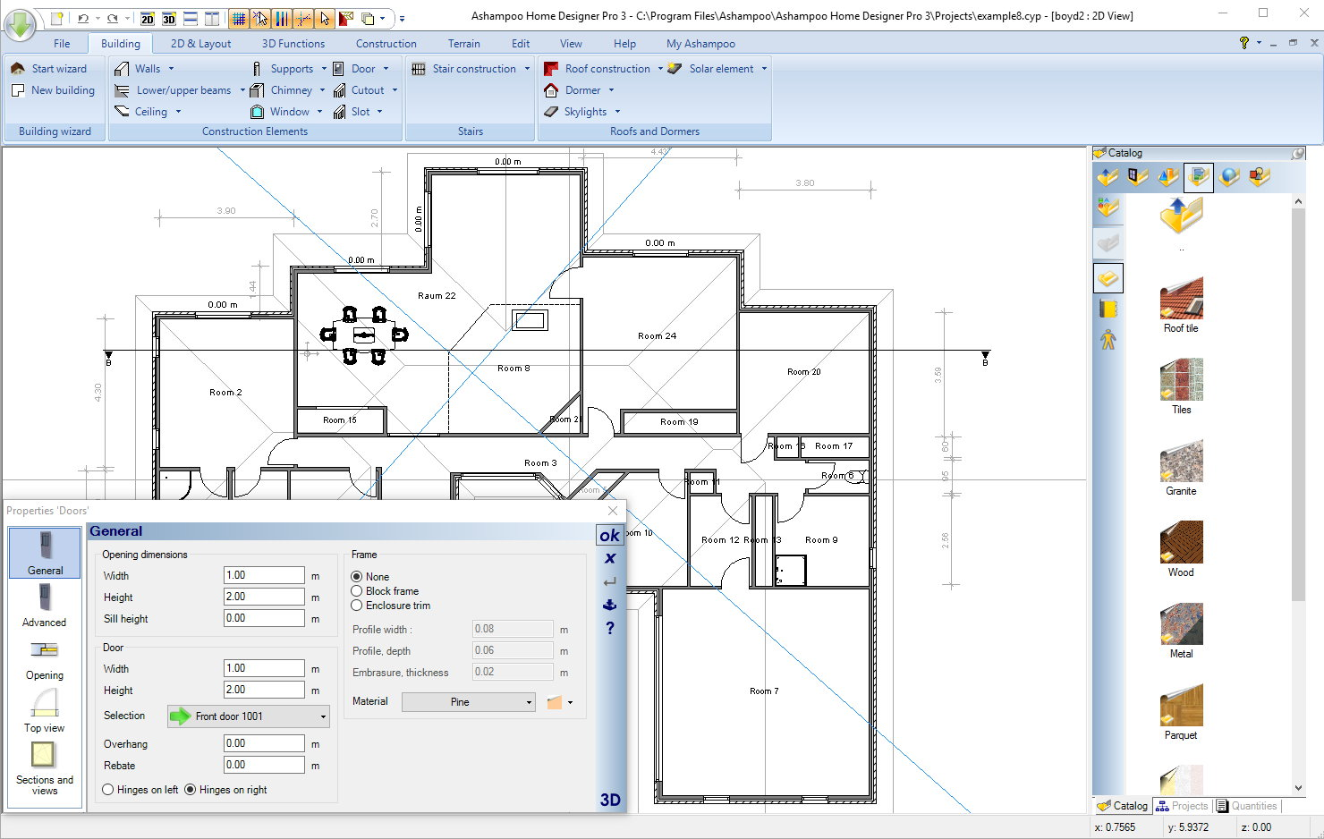 Ashampoo home designer pro 3 for Home designer professional