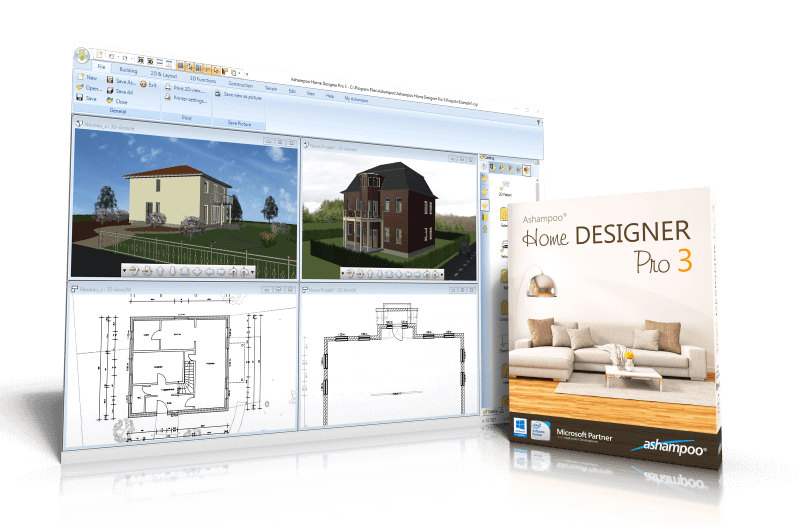 Ashampoo Home Designer Pro 3 - CAD software