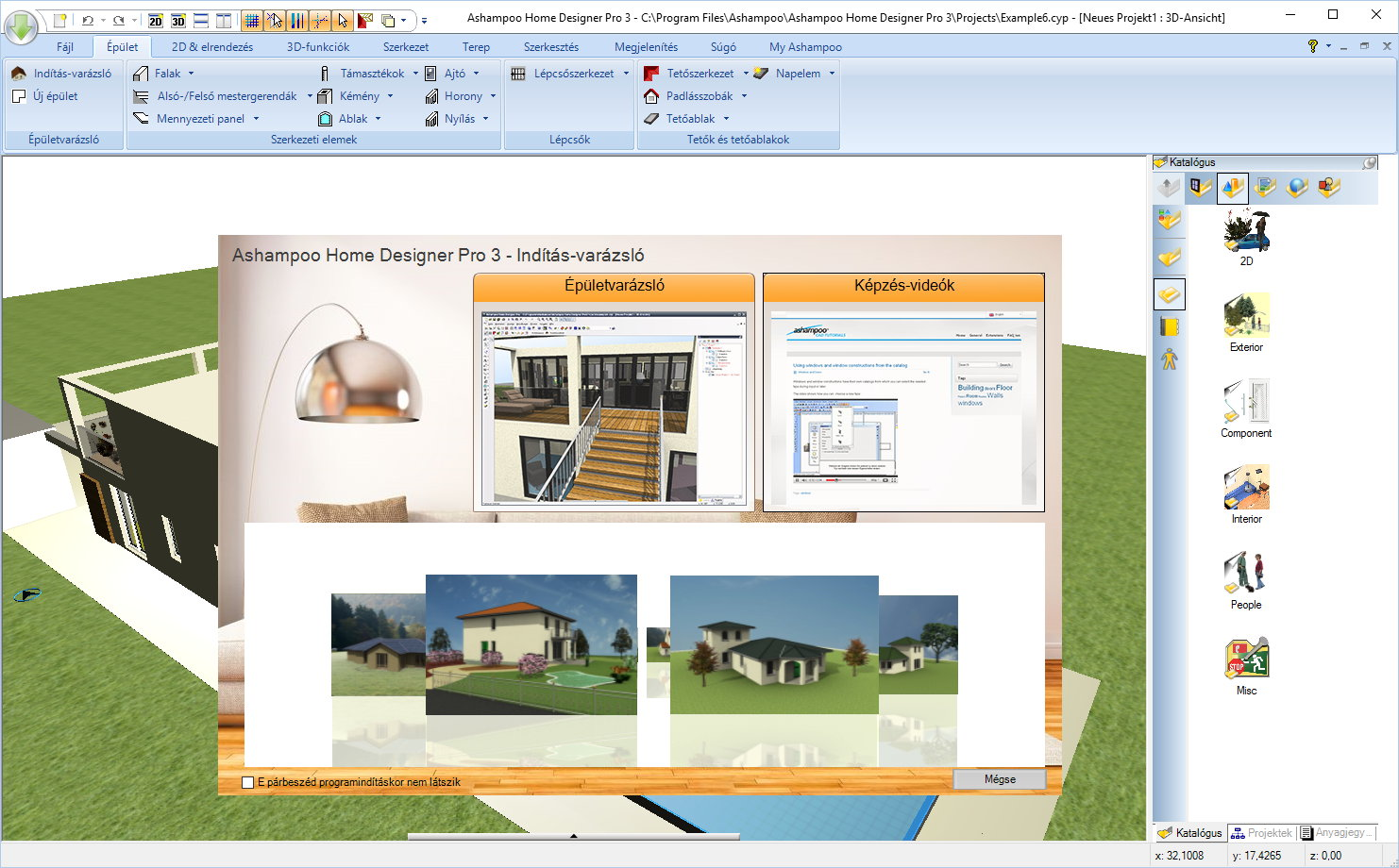 Ashampoo Home Designer Pro  Áttekintés - Home designer pro
