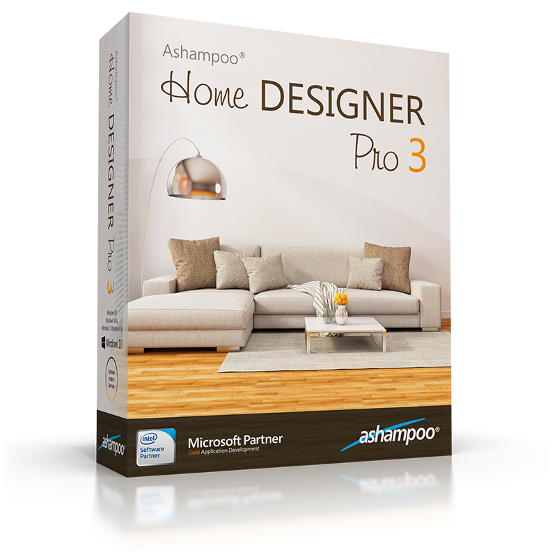 Ashampoo home designer pro 3 panoramica for Style house pro