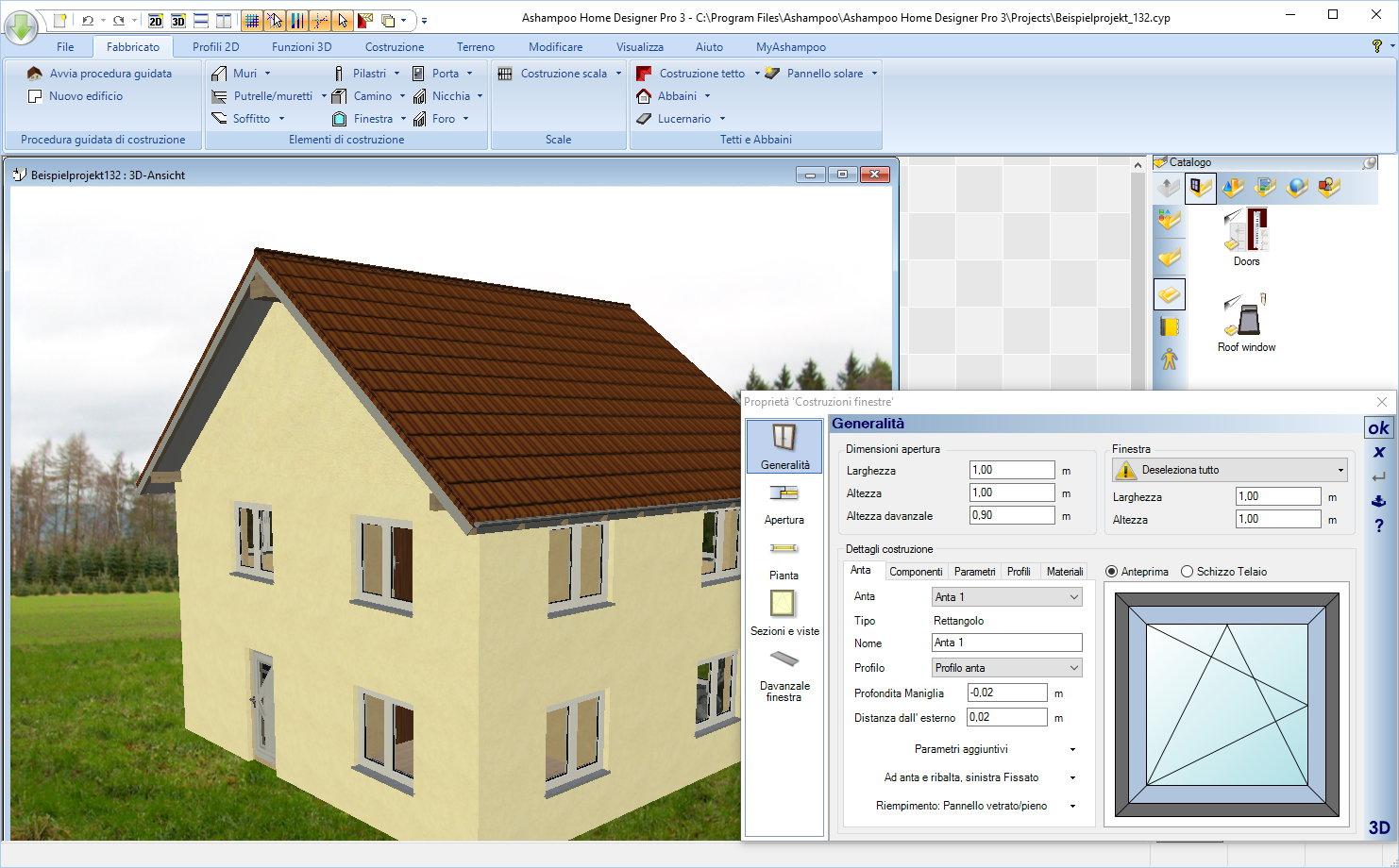 Disegna case appartamenti ed interni in 3d con ashampoo for Disegna i tuoi piani di casa gratuitamente
