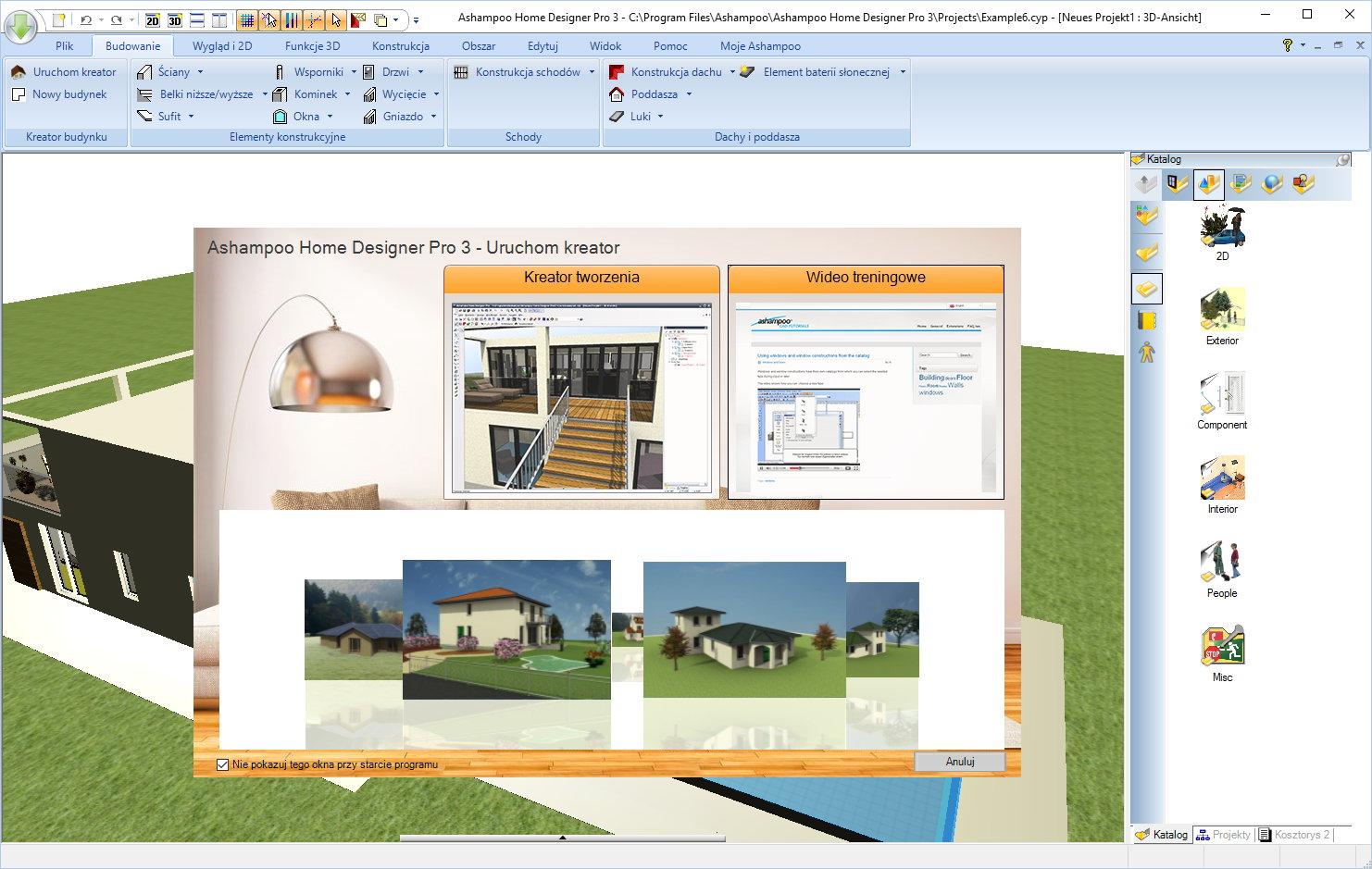 Ashampoo Home Designer Pro 3 Przegld