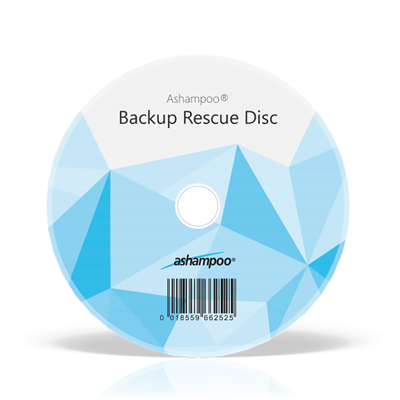 Ashampoo® Backup Rescue Disc - Overview