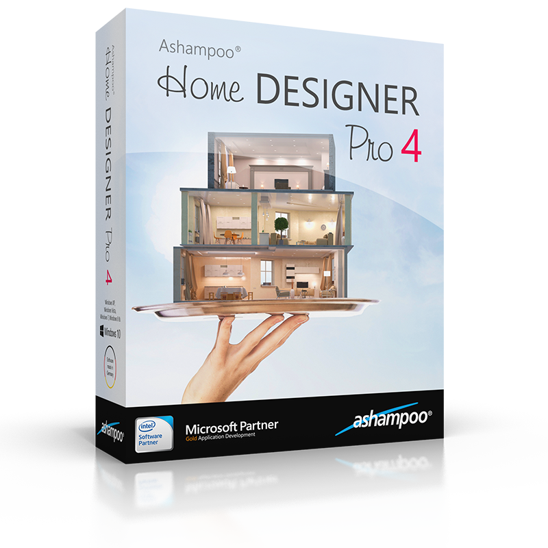 Ashampoo home designer pro 4 overview for Home designer professional
