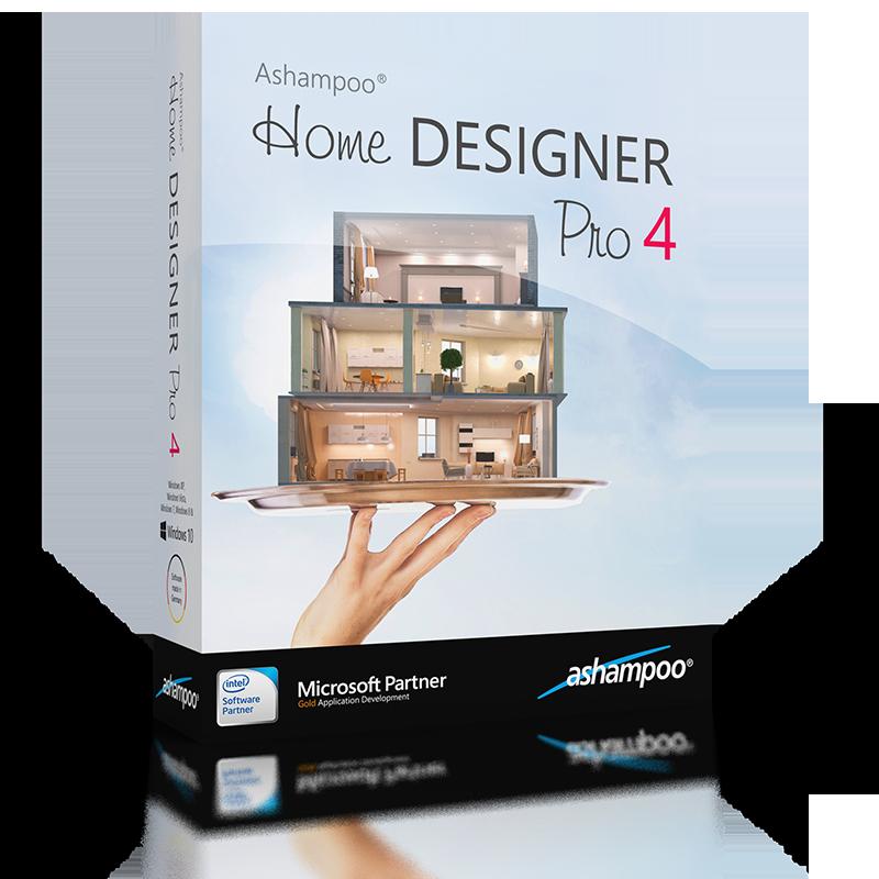 ashampoo home designer pro 4 panoramica