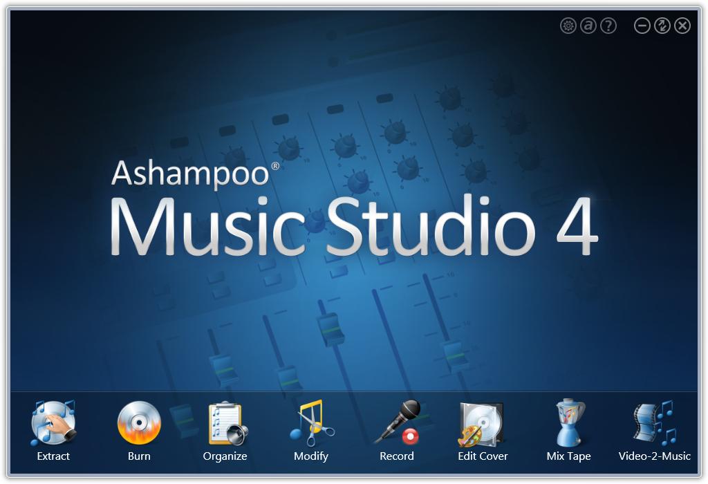 scr ashampoo music studio 4 en start - Ashampoo Music Studio 2013 (Kampanya)