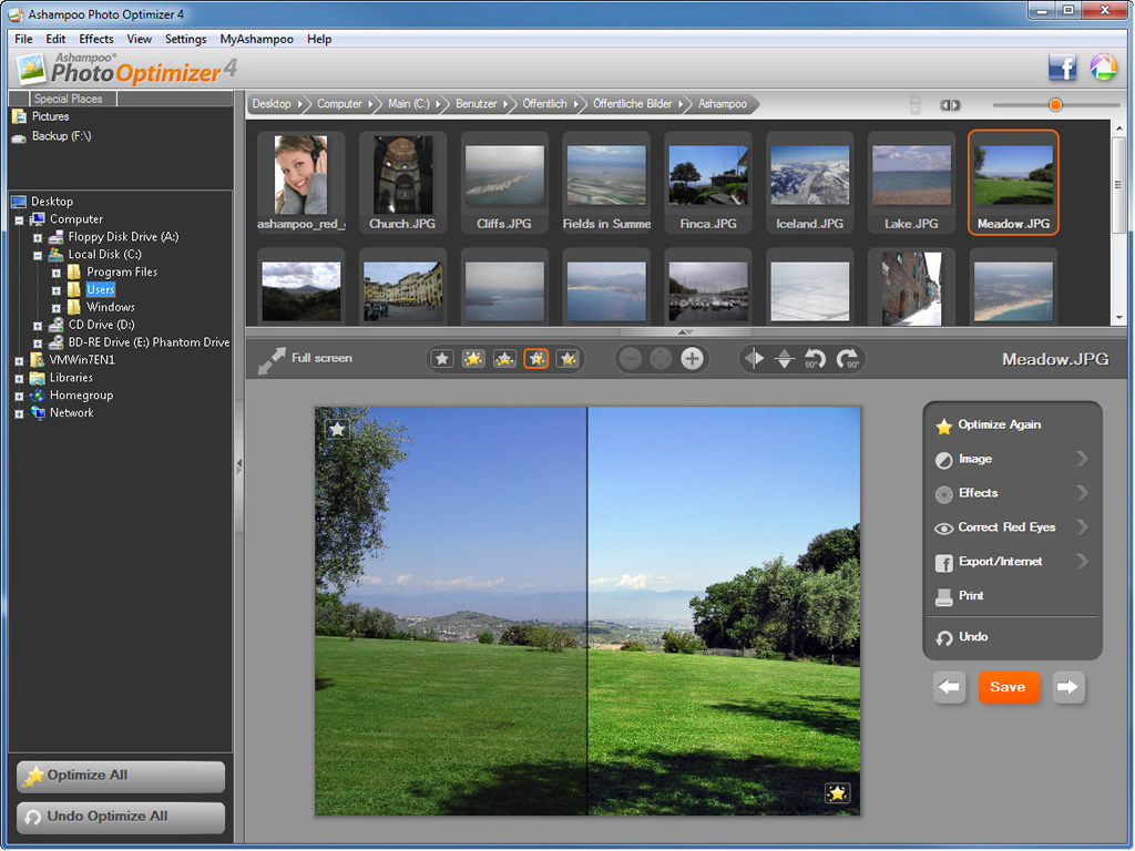 "Ashampoo Photo Optimizer 4 - 照片优化软件丨""反""斗限免"