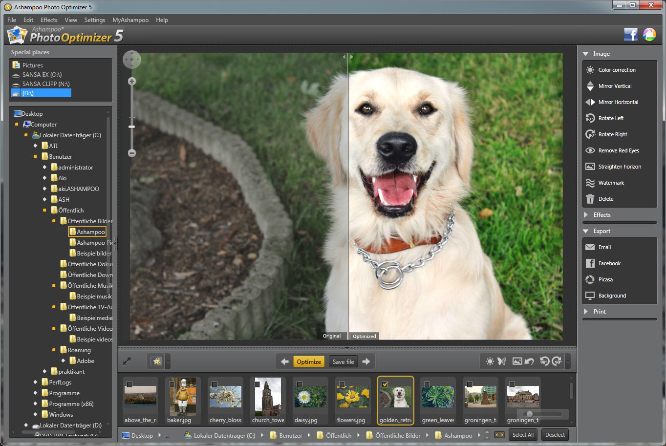 Ashampoo Photo Optimizer 5 – 图片优化软件丨反斗限免