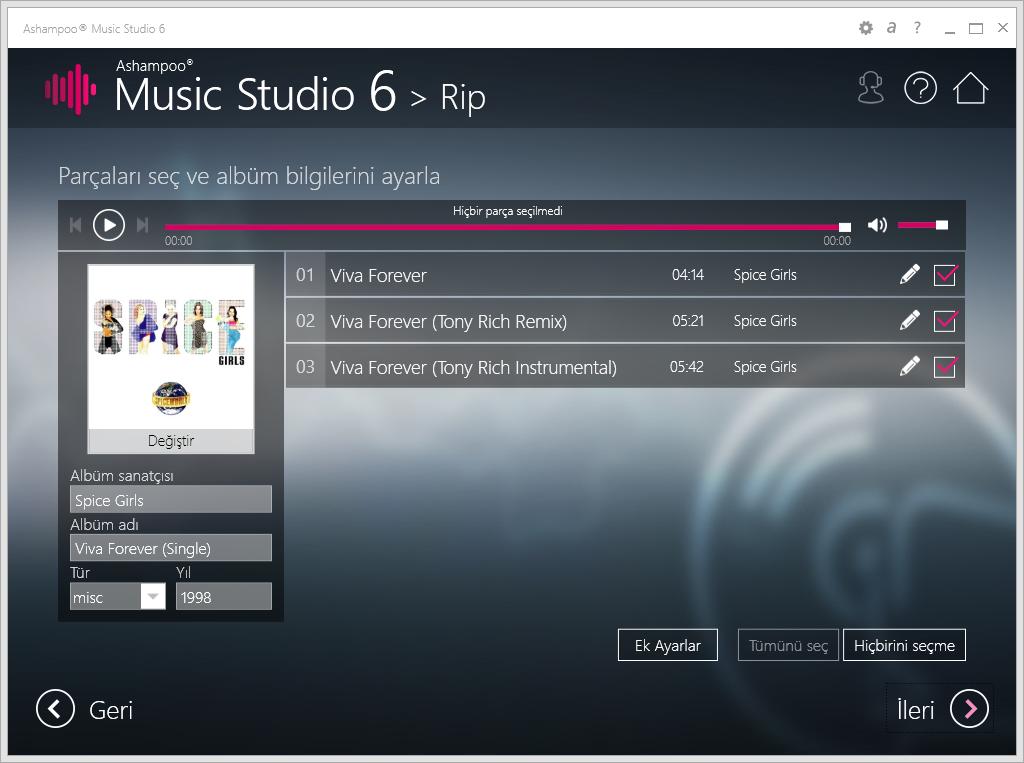 scr ashampoo music studio 6 rip - Ashampoo Music Studio 6 ( 10 Hediye Lisans ) ( Sona Erdi )