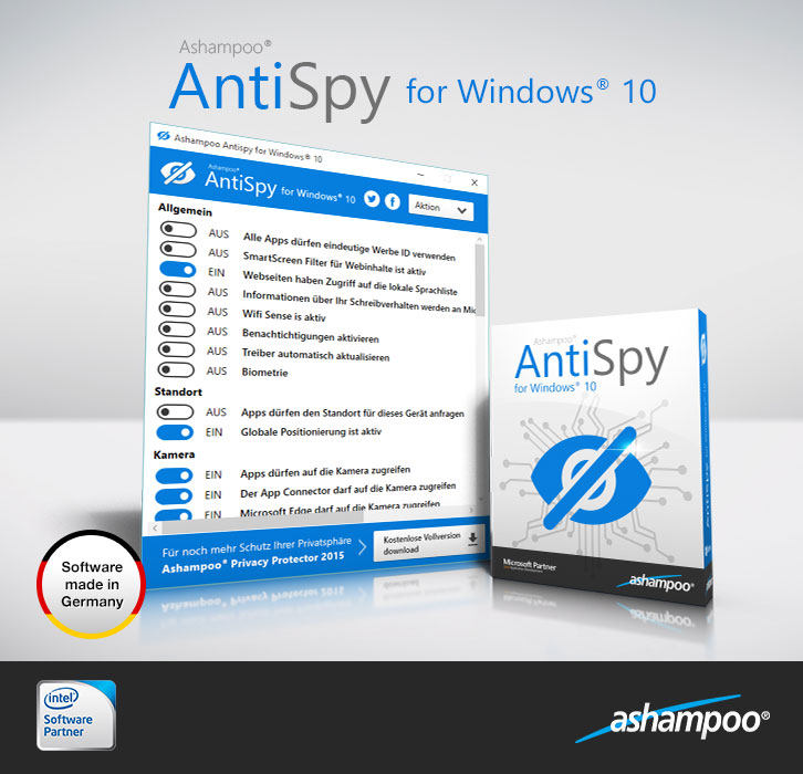 AntiSpy For Windows 10