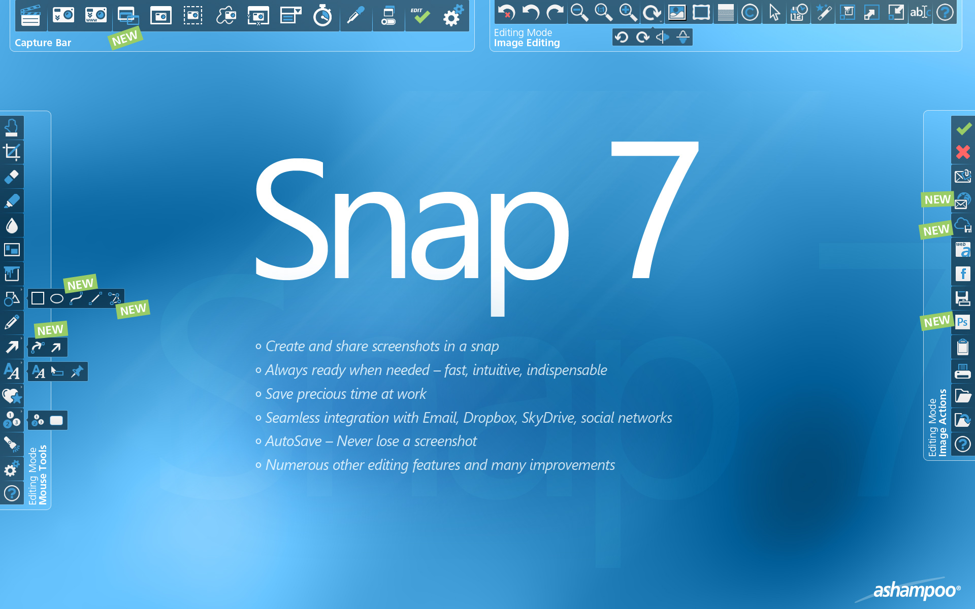 Click to view Ashampoo Snap 7.0.8 screenshot