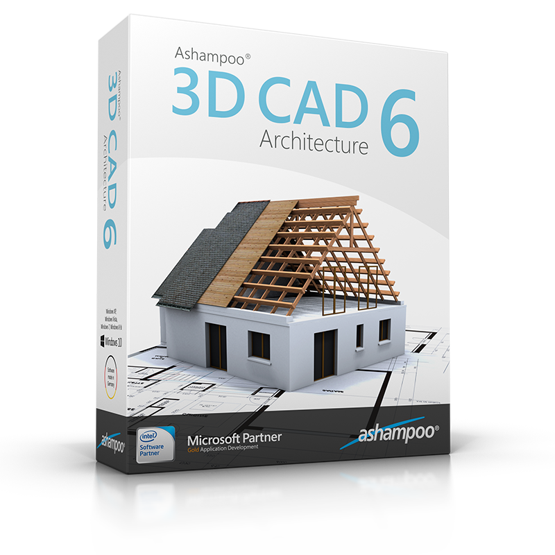 ashampoo 3d cad architecture 6 overview. Black Bedroom Furniture Sets. Home Design Ideas