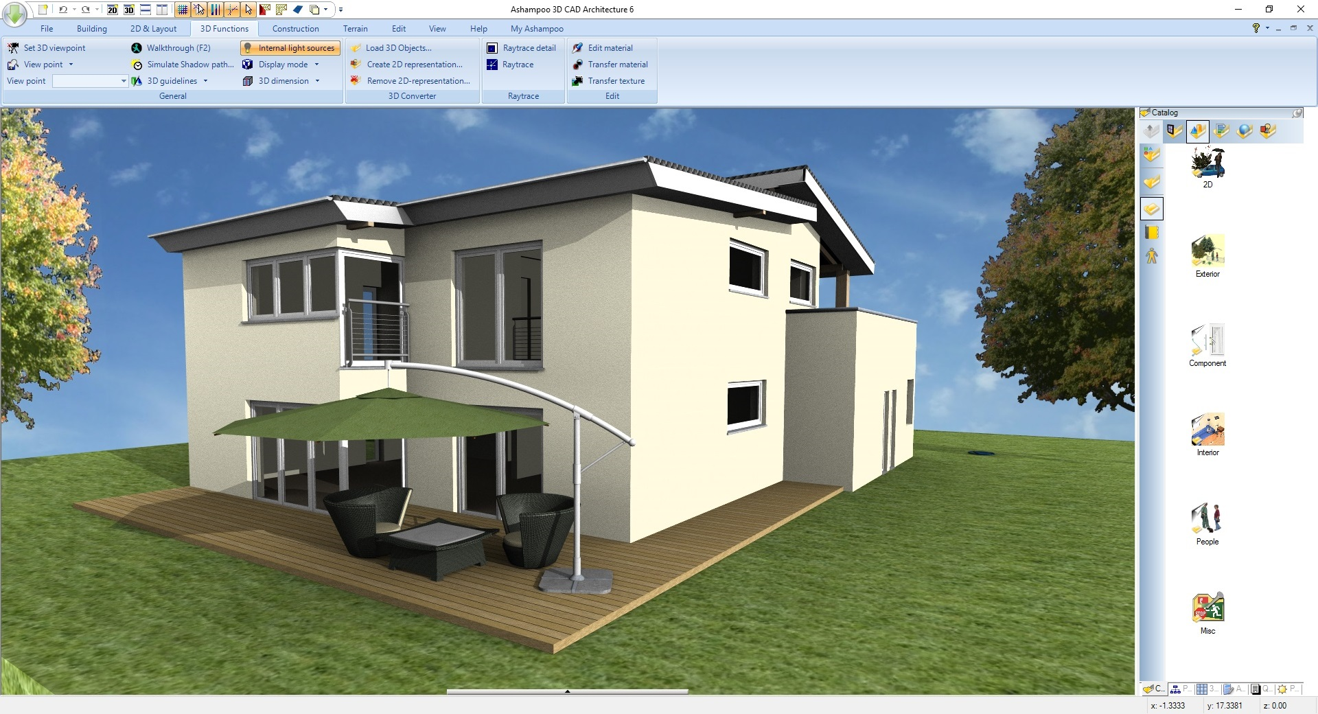 Ashampoo 3d cad architecture 6 for Cad house
