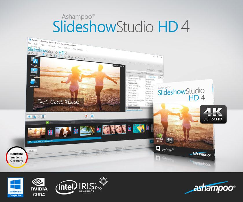 Resultado de imagen para Ashampoo Slideshow Studio 2019