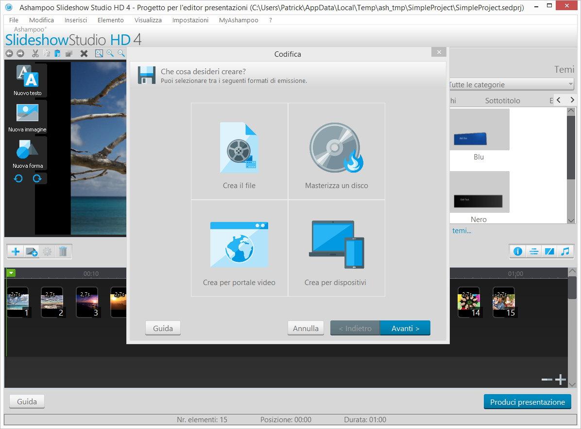 Ashampoo® Slideshow Studio HD 4 - Schermate