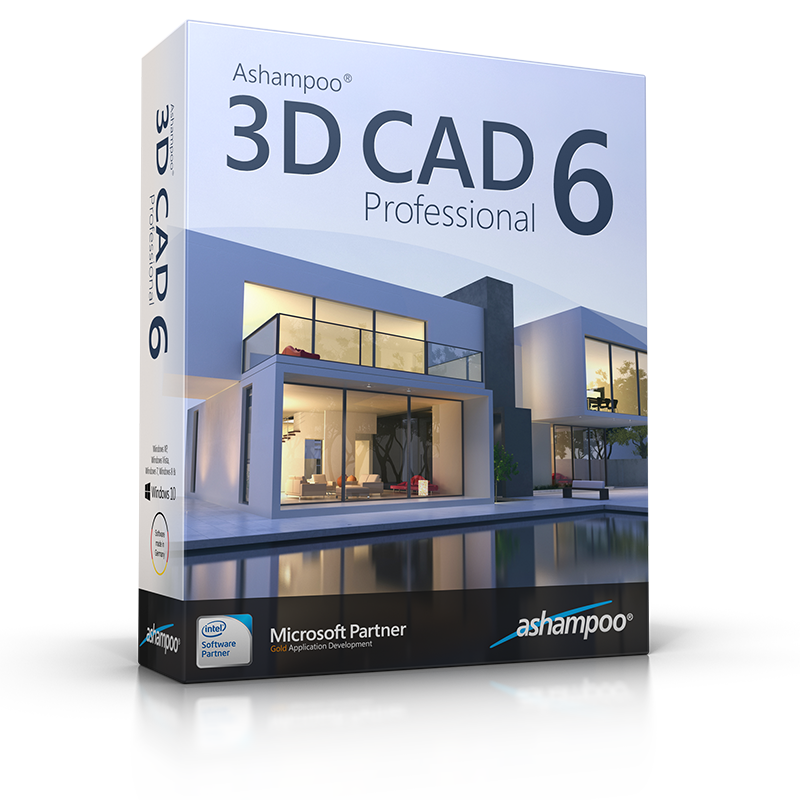 ashampoo 3d cad professional 6 overview. Black Bedroom Furniture Sets. Home Design Ideas