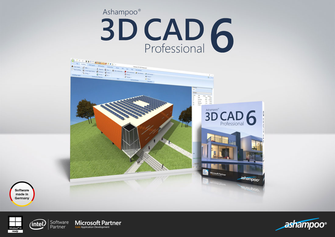 Ashampoo 3D CAD Professional 6 Screenshot