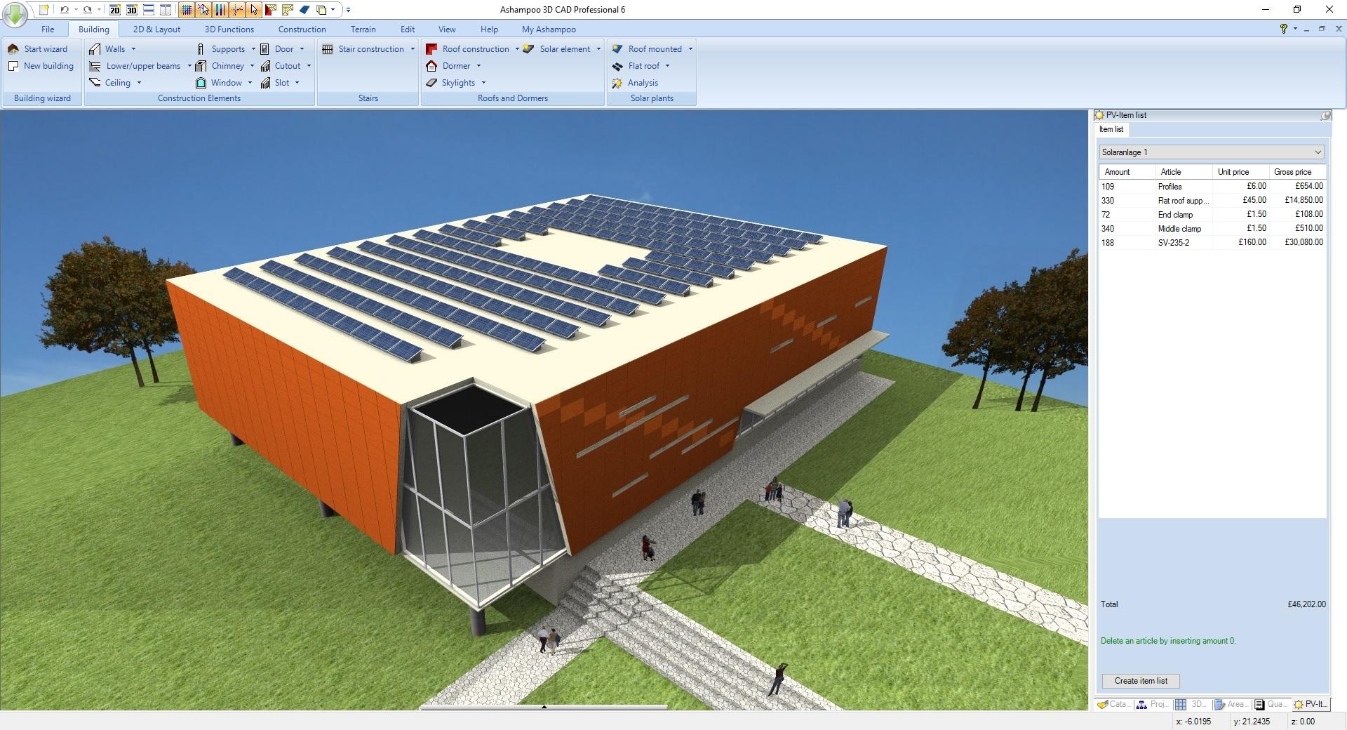 Ashampoo 3D CAD Professional 6 screenshot