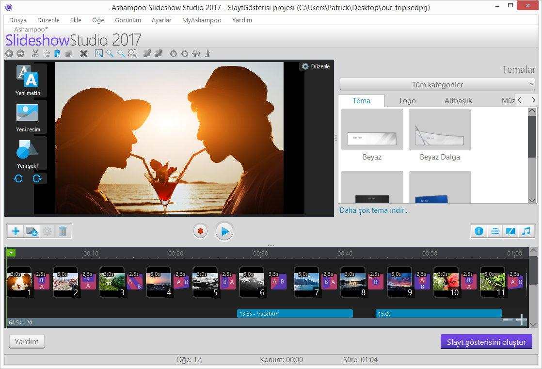 scr ashampoo slideshowstudio 2017 mainscreen - Ashampoo Slideshow Studio 2017 ( Kampanya )