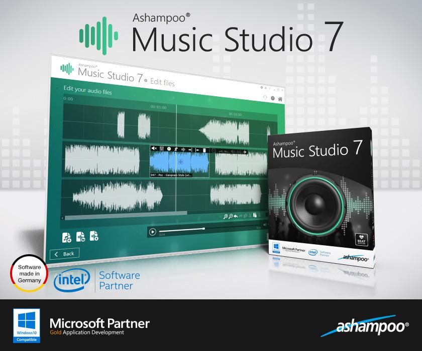 Resultado de imagen de Ashampoo Music Studio 7