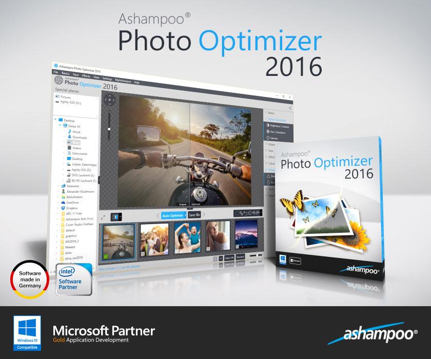 Resultado de imagen de Ashampoo® Photo Optimizer 2016