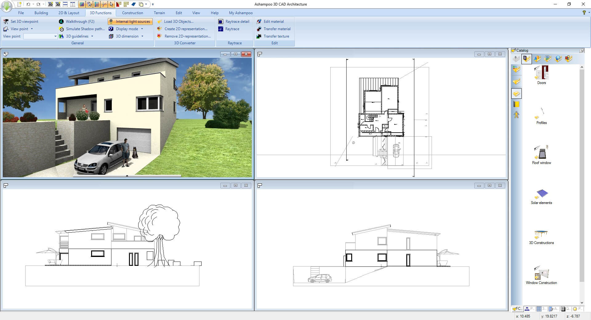 Ashampoo 3D CAD Architecture 7 screenshot