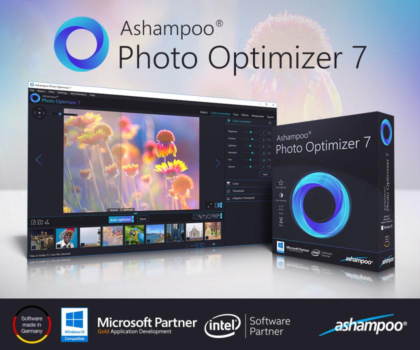 Resultado de imagen para Ashampoo Photo Optimizer 7