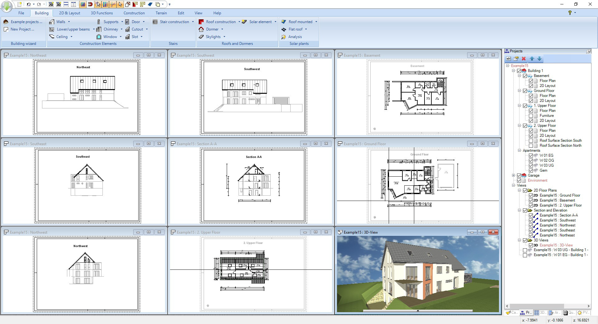 Ashampoo 3D CAD Professional screenshot