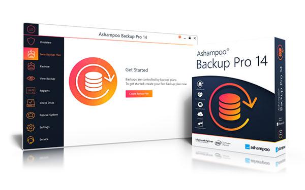 Backup Pro 14 Sreen + box