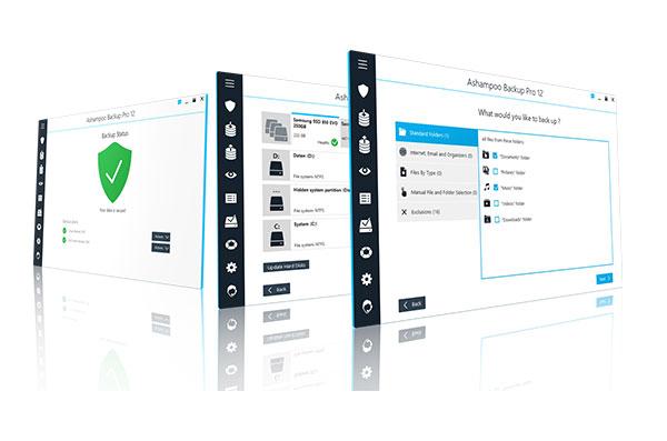 Backup Pro 14 Screens