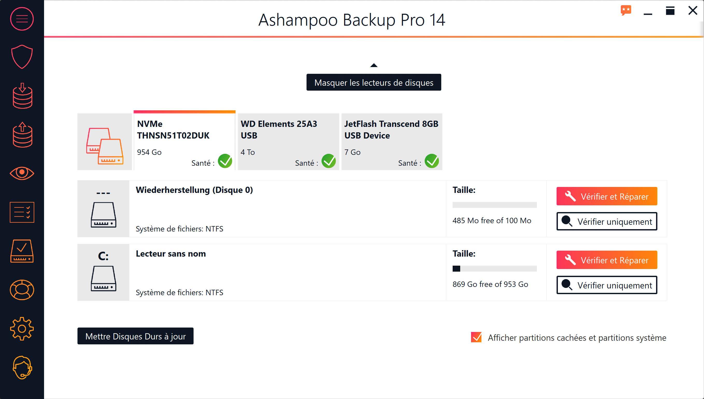 Ashampoo® Backup Pro 14 Version Complète Gratuite Maintenant !