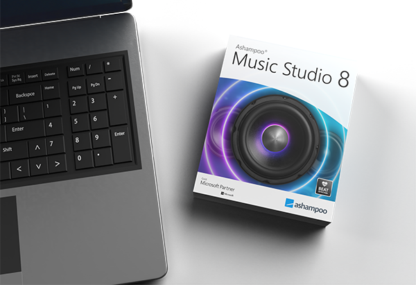 music studio 8 presentation laptop