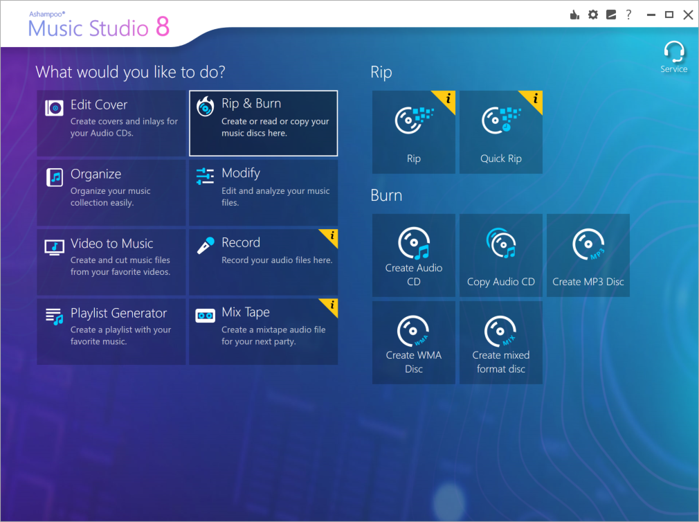 Ashampoo Music Studio 8 screenshot