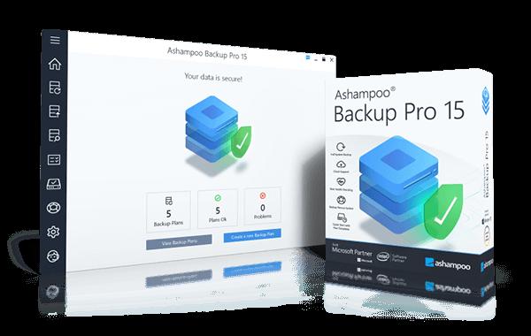 Backup Pro 15 Sreen + box
