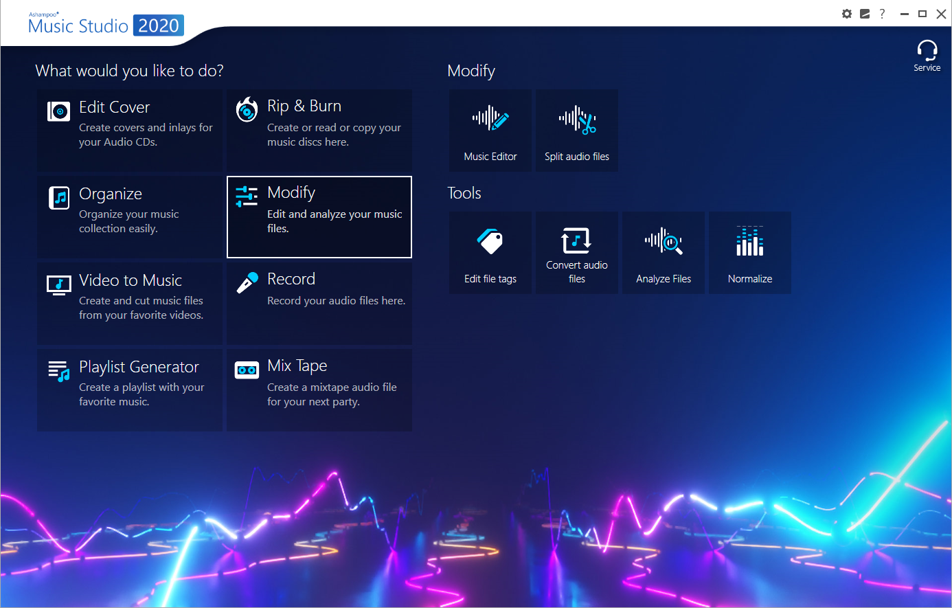 Ashampoo Music Studio 2020 screenshot