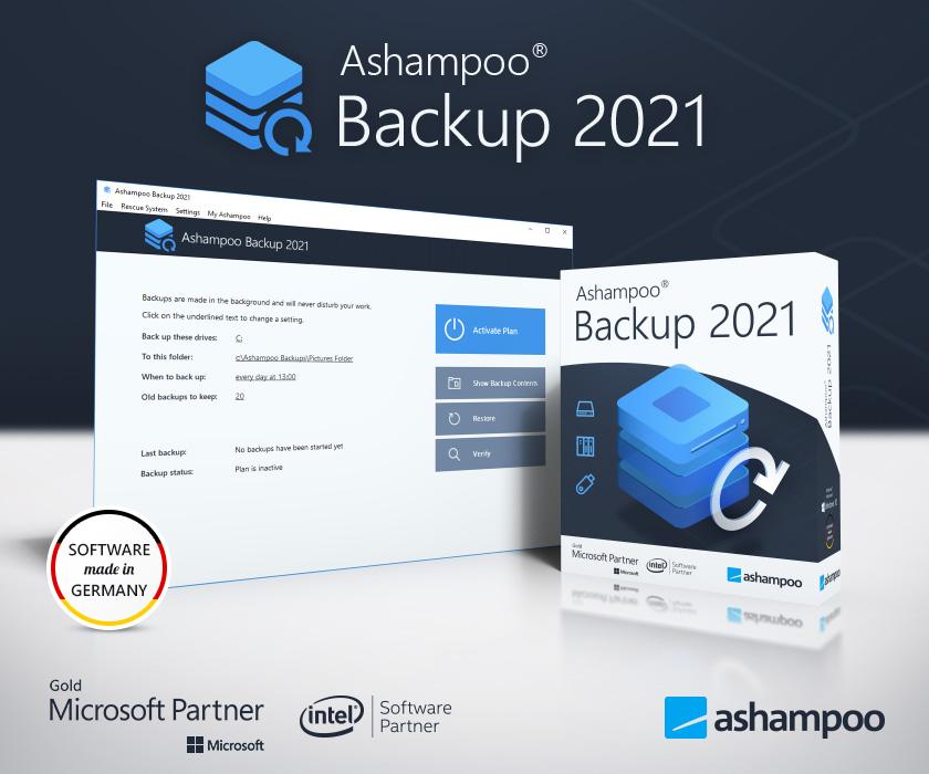Ashampoo Backup 2021 Screenshot
