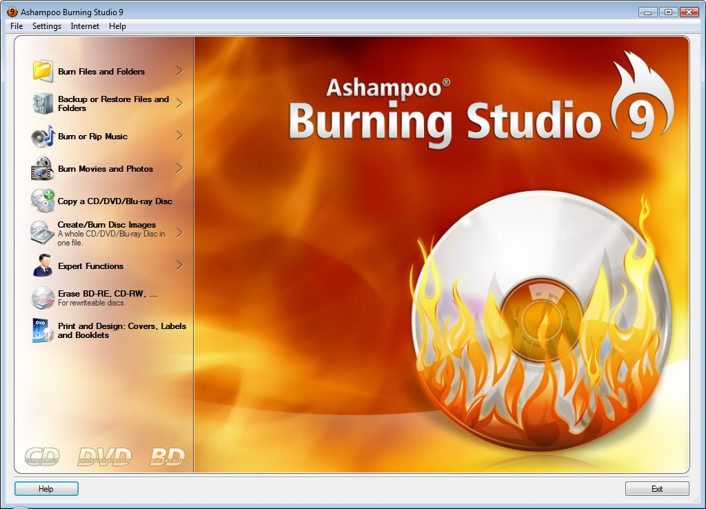 Скачать ashampoo burning studio 6 free