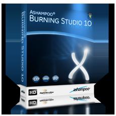 Boxshot Ashampoo® Burning Studio 10
