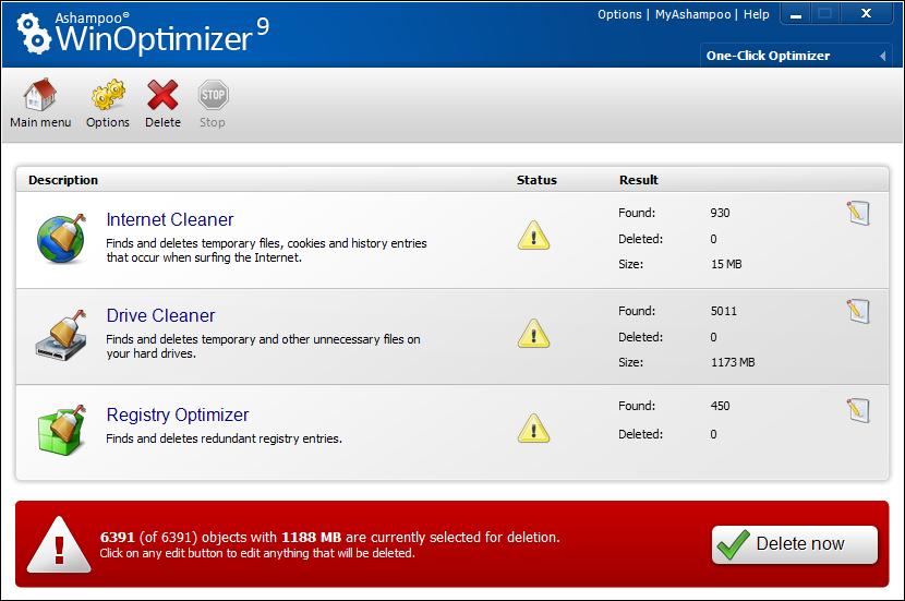 scr ashampoo winoptimizer 9 en oco - Ashampoo Win Optimizer 9 (1 Yıllık)