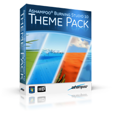 Ashampoo® Burning Studio 10 Theme Pack