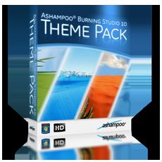 Ashampoo® Burning Studio 10 Theme Pack
