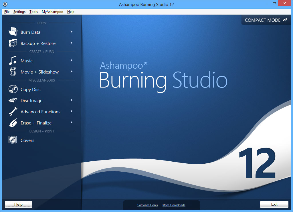 Ashampoo Burning Studio 12 (CZ)