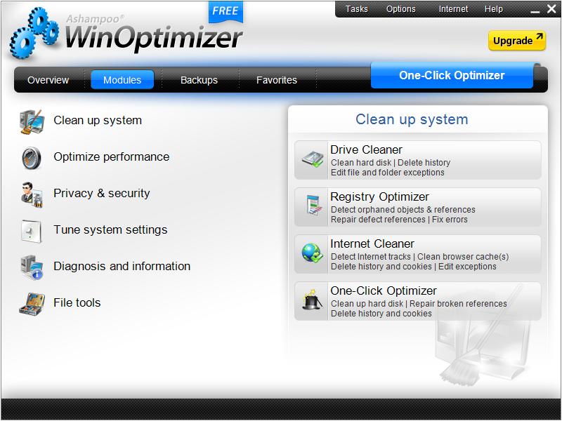 ashampoo-winoptimizer-sistem temizleme-sistem optimizasyon-pc hızlandırma