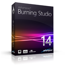 Boxshot Ashampoo® Burning Studio 14